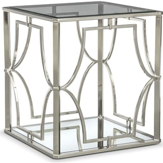 Galleria End Table - Chrome
