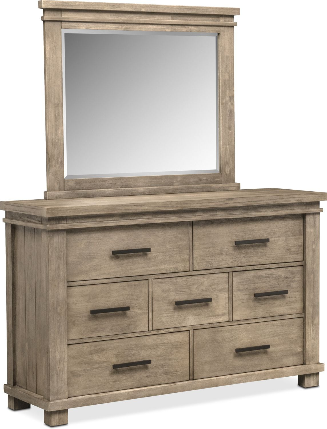 Tribeca 6 Piece King Storage Bedroom Set W 4 Underbed Drawers Gray American Signature Furniture