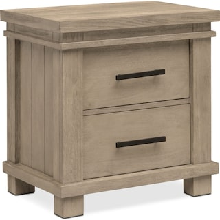 Tribeca Nightstand - Gray