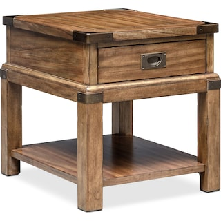 Explorer End Table - Chestnut