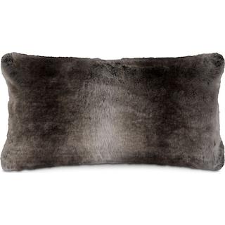 Faux Fur Pillow - Taupe
