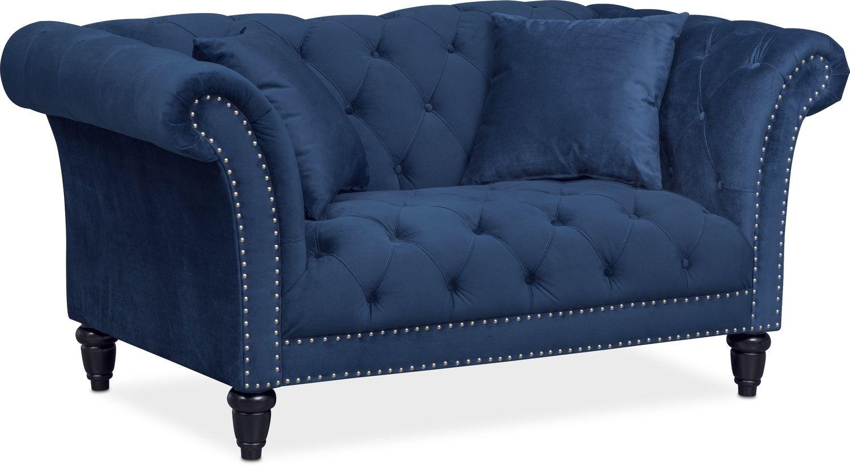 Living Room Furniture - Marisol Loveseat
