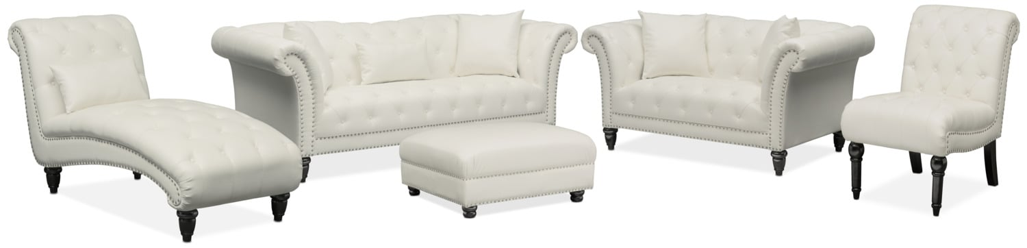 The Marisol Collection - White