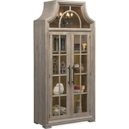 Lancaster Display Cabinet with Hutch