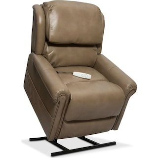 Grace Power Lift Recliner - Mushroom
