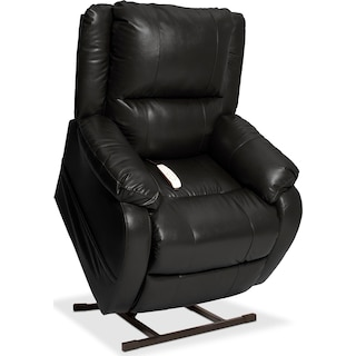 Dudley Power Lift Recliner - Black