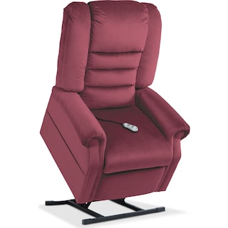 Ava Power Lift Recliner - Merlot