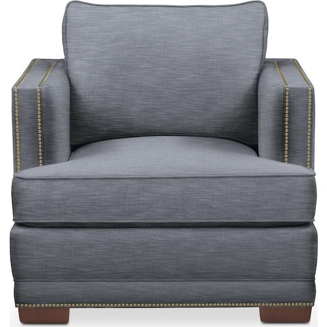 Living Room Furniture - Arden Chair- Cumulus in Dudley Indigo
