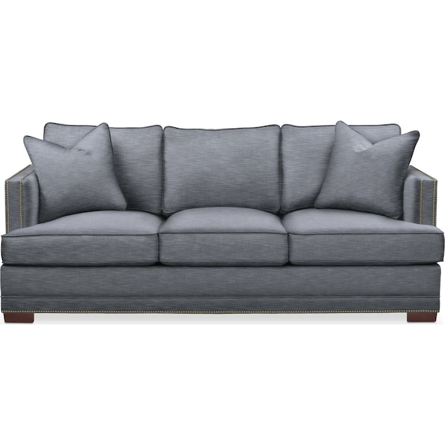 Living Room Furniture - Arden Sofa- Comfort in Dudley Indigo