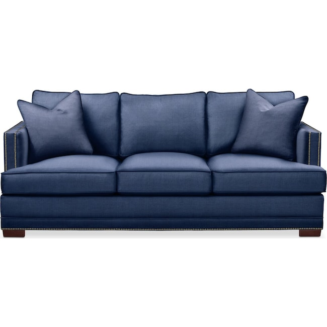 Living Room Furniture - Arden Sofa- Comfort in Abington TW Indigo