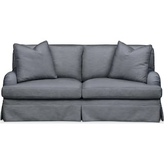 Campbell Apartment Sofa- Cumulus in Dudley Indigo