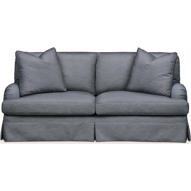 Living Room Furniture - Campbell Apartment Sofa- Cumulus in Dudley Indigo