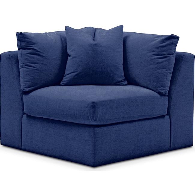 Living Room Furniture - Collin Corner Chair- Cumulus in Abington TW Indigo