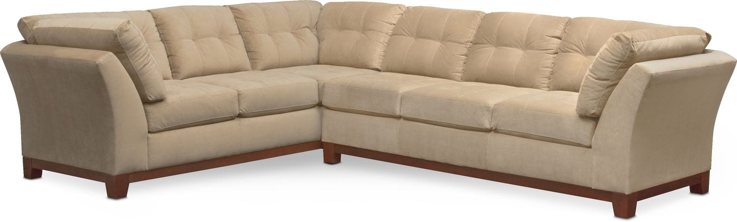 The Sebring Sectional Collection - Cocoa