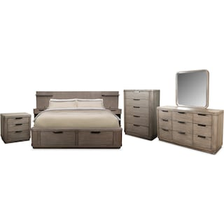 The Malibu Low Bedroom Collection