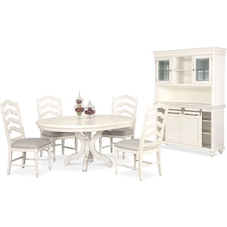 The Charleston Round Dining Collection