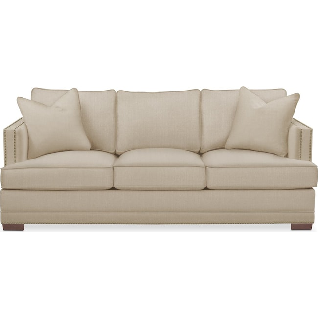 Living Room Furniture - Arden Sofa- Comfort in Depalma Taupe