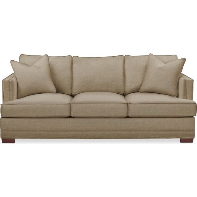 Living Room Furniture - Arden Sofa- Comfort in Milford II Toast