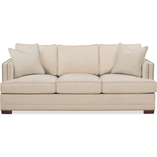 Living Room Furniture - Arden Sofa- Comfort in Victory Ivory