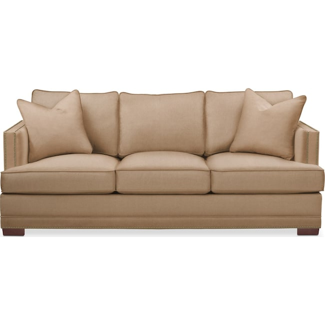 Living Room Furniture - Arden Sofa- Comfort in Hugo Camel