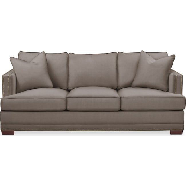 Living Room Furniture - Arden Sofa- Cumulus in Oakley III Granite