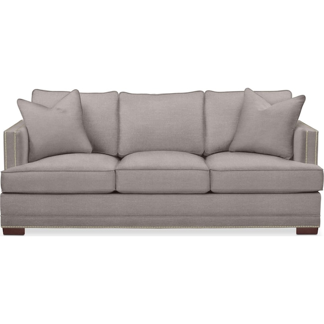 Living Room Furniture - Arden Sofa- Cumulus in Curious Silver Rine