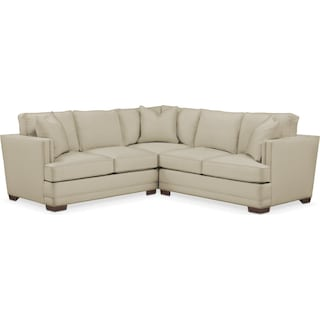 Arden 2 Pc. Sectional with Right Arm Facing Loveseat- Cumulus in Abington TW Barley