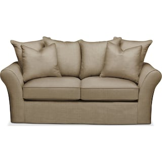 Allson Apartment Sofa- Comfort in Milford II Toast