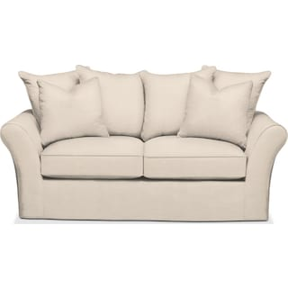 Allson Apartment Sofa- Comfort in Curious Pearl