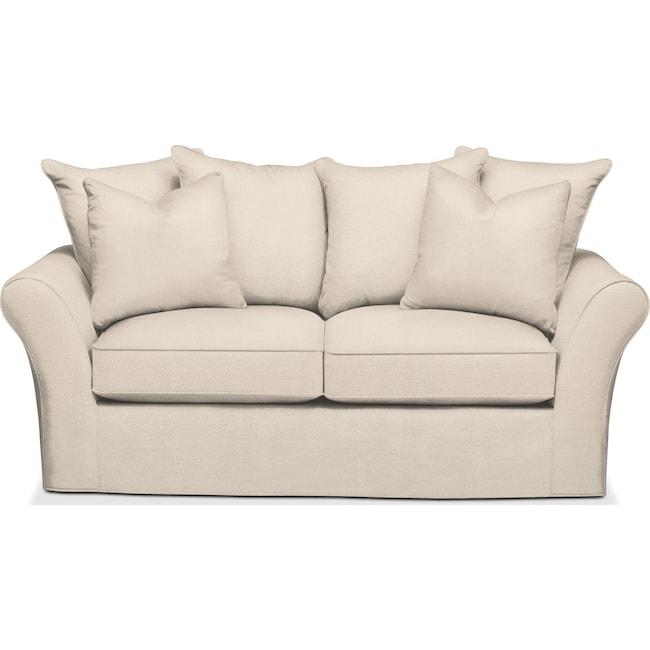 Living Room Furniture - Allson Apartment Sofa- Comfort in Curious Pearl