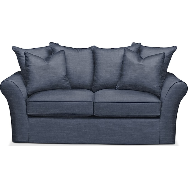 Living Room Furniture - Allson Apartment Sofa- Comfort in Curious Eclipse