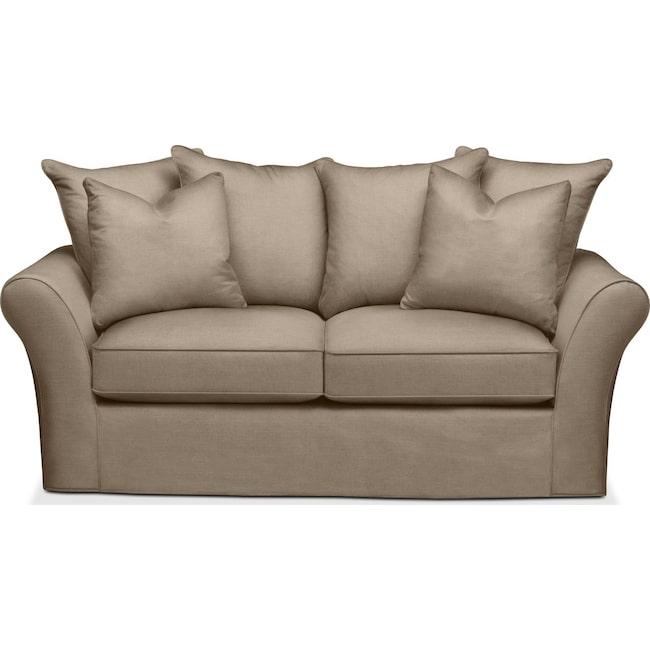 Living Room Furniture - Allson Apartment Sofa- Comfort in Statley L Mondo