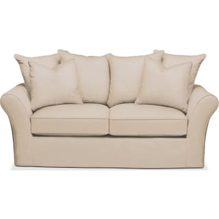 Allson Apartment Sofa- Comfort in Dudley Buff