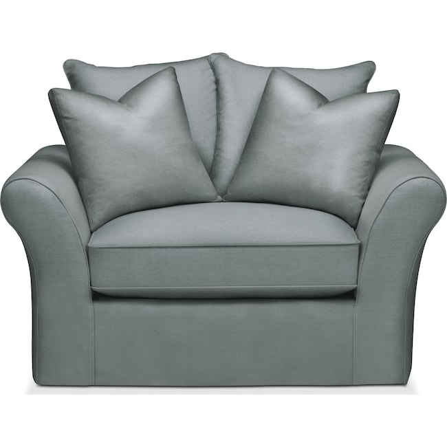 Living Room Furniture - Allison Chair and a Half- Comfort in Abington TW Seven Seas
