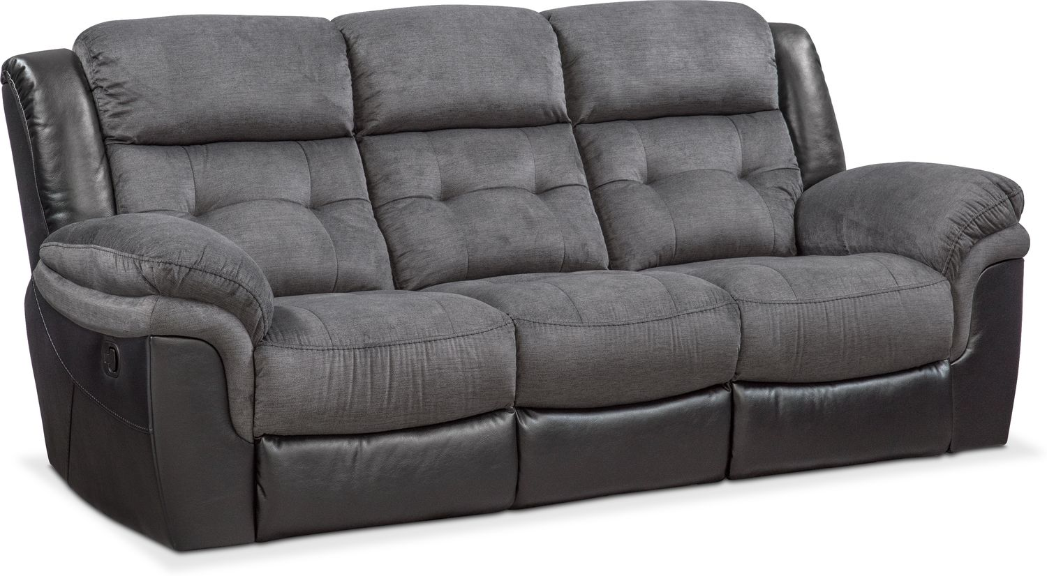 Living Room Furniture - Tacoma Manual Reclining Sofa
