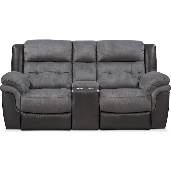 Pleasant Tacoma Manual Reclining Loveseat Short Links Chair Design For Home Short Linksinfo