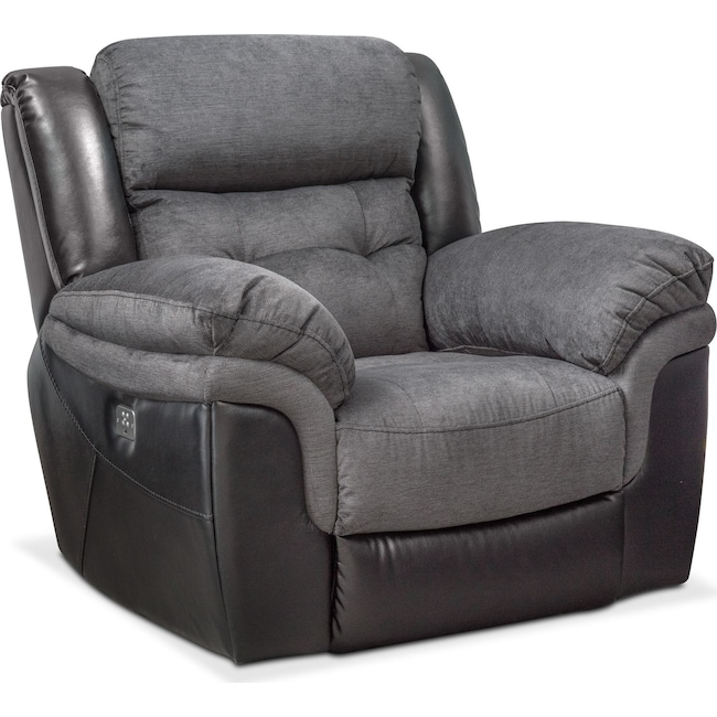Living Room Furniture - Tacoma Dual-Power Recliner