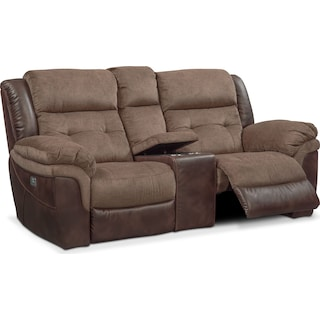 Tacoma Dual-Power Reclining Loveseat