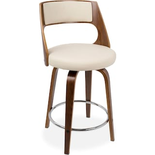 Acton Counter-Height Stool - Cream