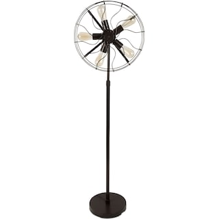 Briarcliff Antique Fan Floor Lamp