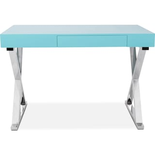 Brixton Desk - Light Blue