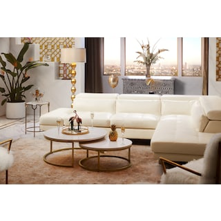 Torino 2-Piece Sectional with Chaise