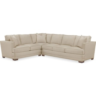 Arden Cumulus 2-Piece Large Sectional with Right-Facing Sofa - Depalma Taupe