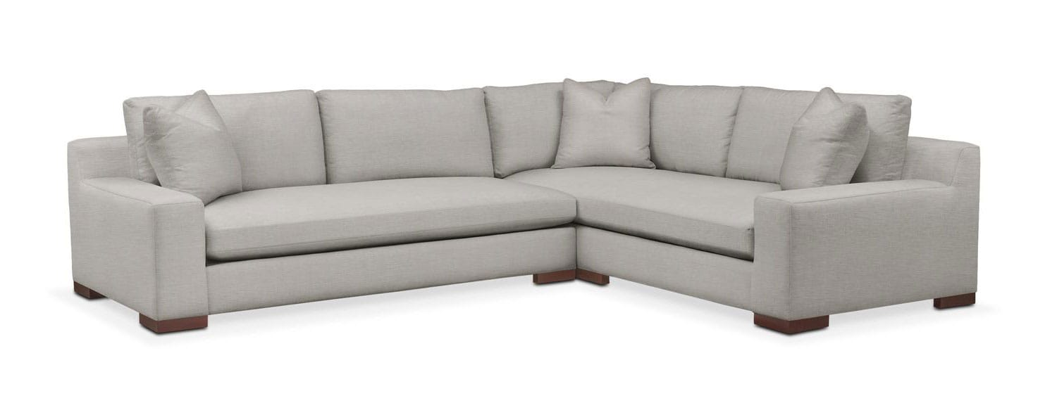 Ethan 2-Piece Sectional with Sofa | American Signature Furniture