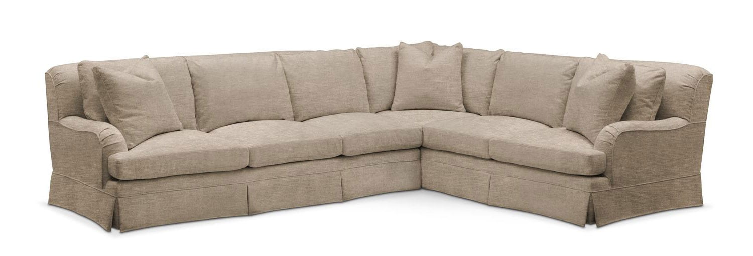 Superieur Living Room Furniture   Campbell 2 Piece Sectional With Left Facing Sofa    Comfort