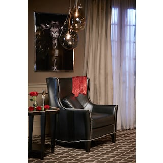 Fenwick Accent Chair - Black