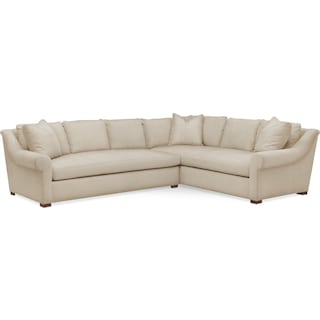 Asher 2 Pc. Sectional with Left Arm Facing Sofa- Cumulus in Depalma Taupe