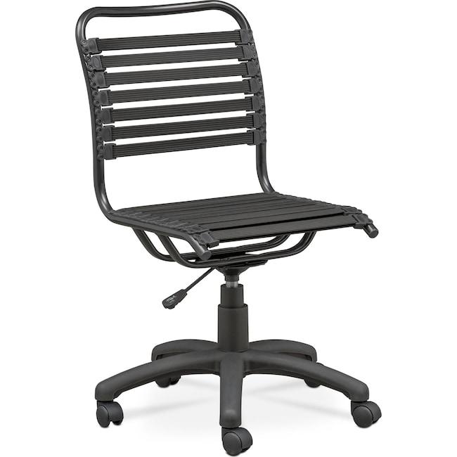 Home Office Furniture - Tribeca Desk Chair - Black