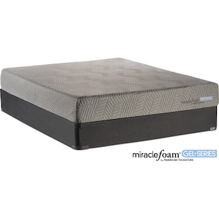 Rejuvenate Firm Queen Mattress and Foundation Set