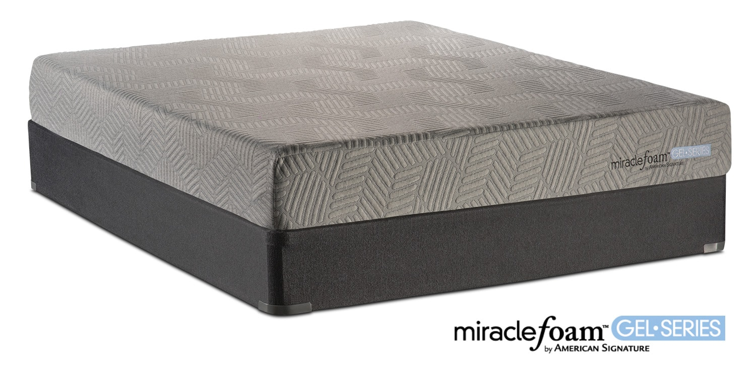 Rejuvenate Firm Twin Mattress And Foundation Set American Signature Furniture